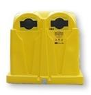 Gelber Container
