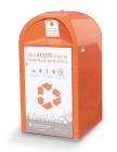 orangener Container